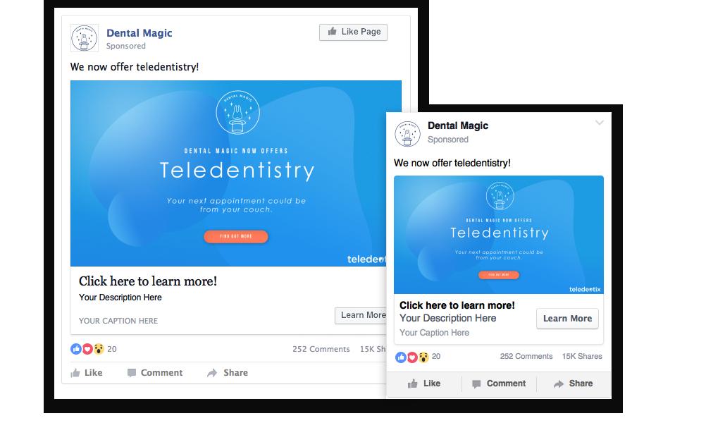 Teledentistry Social Ad Download