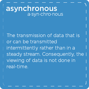 Definition of asynchronous teledentistry