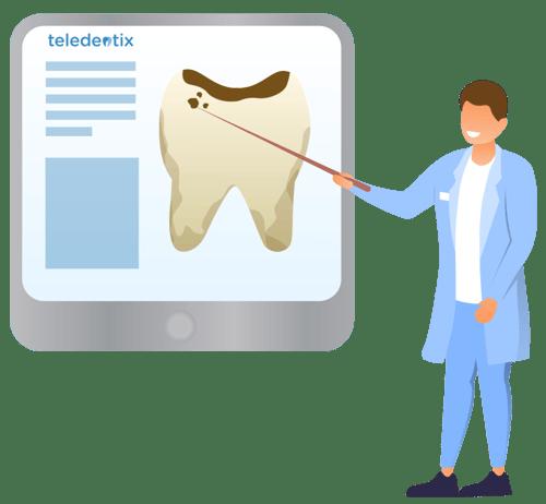 Virtual Case Presentation using Teledentistry