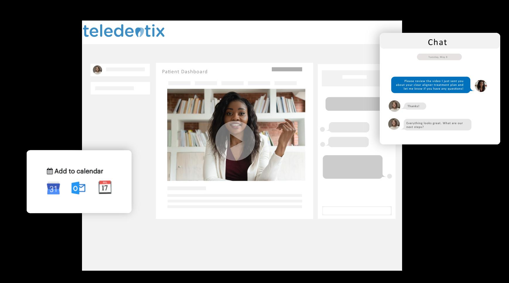 Teledentix Patient Portal